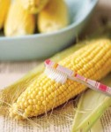 Remove corn silk with a toothbrush.